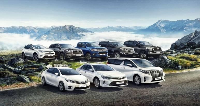 Автомобили Toyota безоговорочно лидируют посохранению остаточной стоимости второй год подряд
