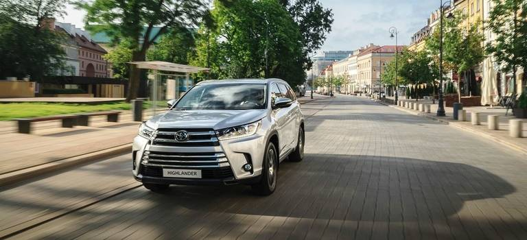 Новый Toyota Highlander доступен для заказа вБелоруссии