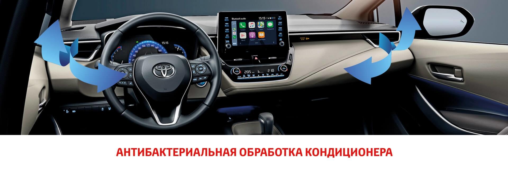 Антибактериальная обработка автомобильного кондиционера!⠀