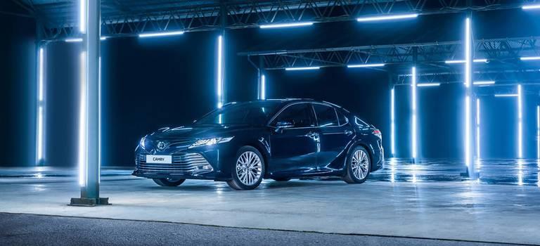 Закрытая презентация Новой Toyota Camry