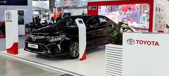 Toyota на«ИННОПРОМ-2017»: встреча навысшем уровне