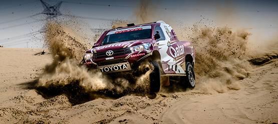 Toyota Hilux под управлением Нассера Аль-Аттия стал самым быстрым автомобилем ралли-рейда Dubai International Baja