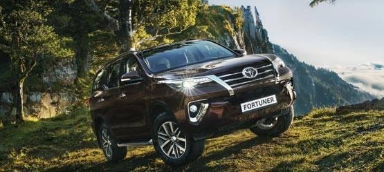 Toyota Fortuner. Прием заказов открыт