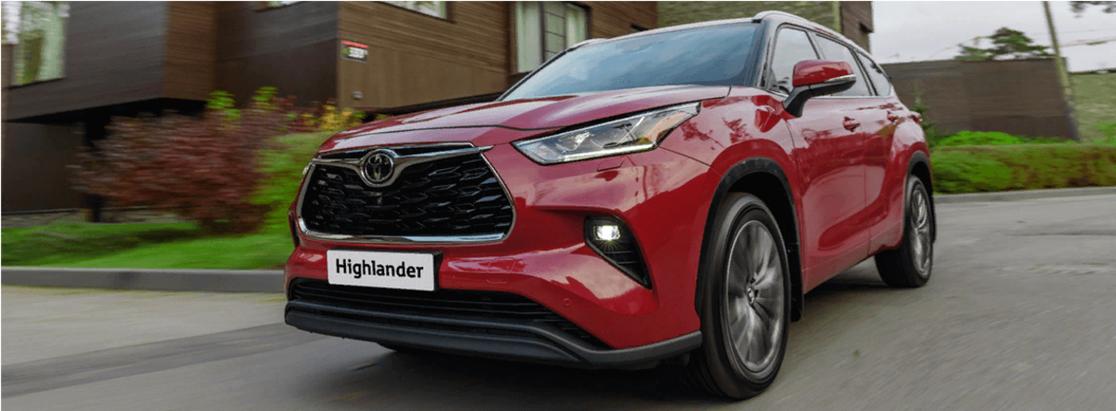 Toyota привезет вРоссию идеальный 7-местный семейный кроссовер Highlander