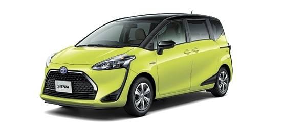 Базовая Toyota Sienta стала пятиместной иподешевела после обновления