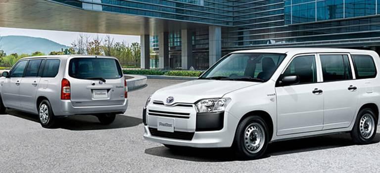 Toyota Probox получила гибридную модификацию
