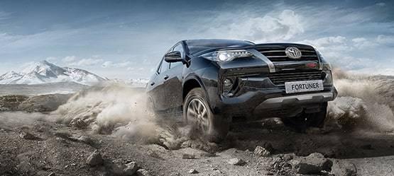 ВРФ теперь можно заказать Toyota Fortuner TRD