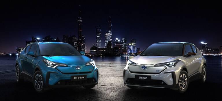 Toyota C-HR стала электромобилем