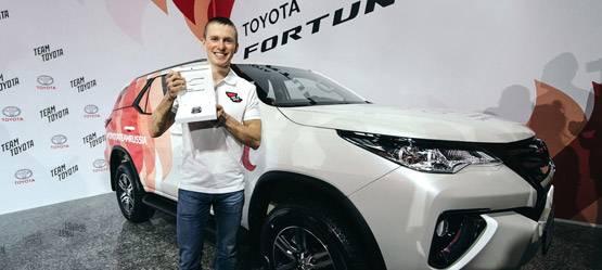 Toyota объявила имя победителя Toyota Challenge Сup!
