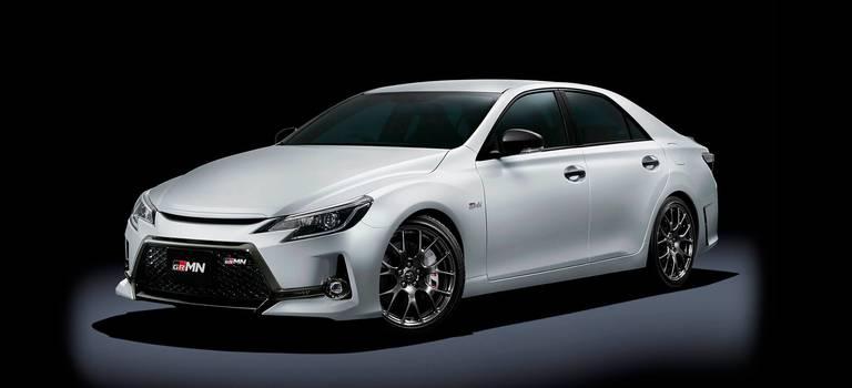 Toyota Mark XGRMN: атмосферный V6, «механика» изадний привод