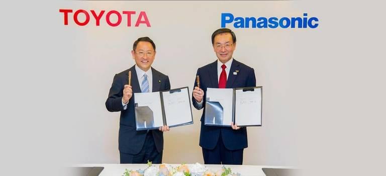 Toyota иPanasonic собираются сообща разработать прорывные батареи для электромобилей