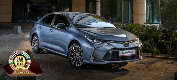 Toyota Corolla вчисле главных претендентов название «Автомобиль года» вЕвропе