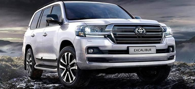 Для избранных: Toyota представила топ-версию Land Cruiser 200 Excalibur