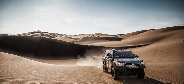 Маршрут ралли «Шелковый путь-2017» снова проложат внедорожники Toyota