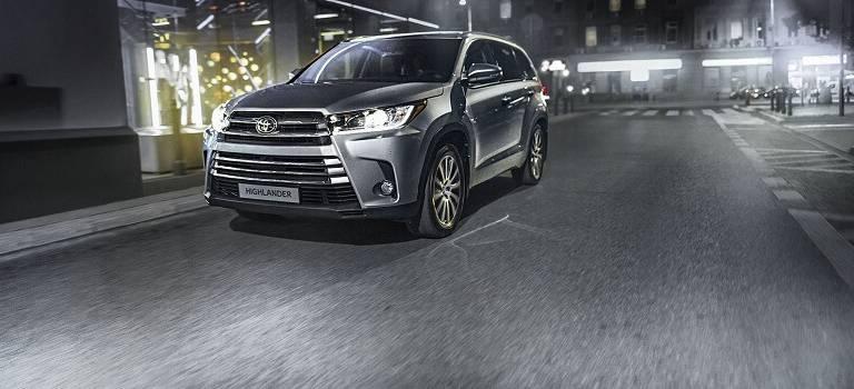 Новый Toyota Highlander представлен вРоссии