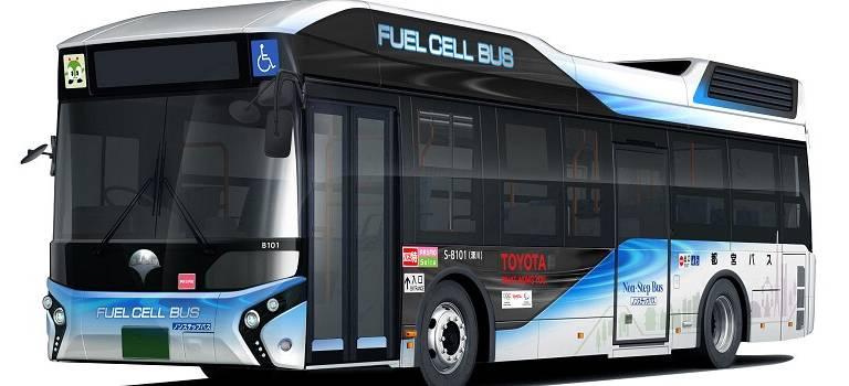 Подготовка кОлимпийским играм 2020: первый автобус Toyota наводородных элементах передан правительству Токио