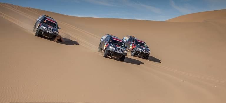 Вызов брошен: 3 самых сложных участка ралли «Шелковый путь» названы вчесть Toyota