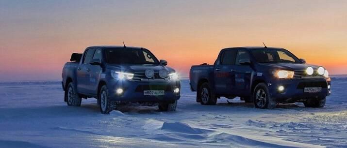 Испытан Крайним Севером: очередной рекорд легендарного Toyota Hilux для книги Гиннесса!