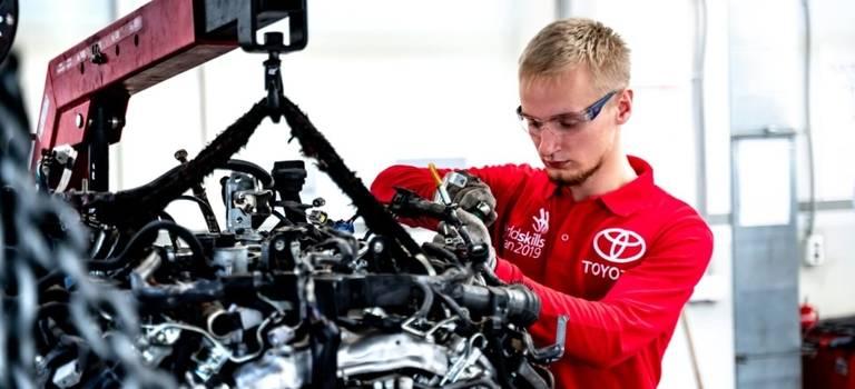 Тойота стала партнером главного международного события года вРоссии— WorldSkills Kazan 2019.