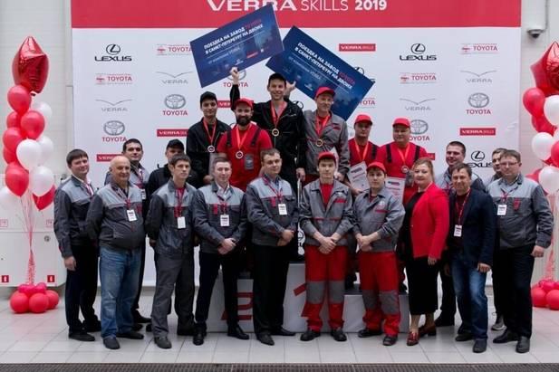 VERRA SKILLS 2019: названы имена лучших технических специалистов поавтомобилям вПрикамье