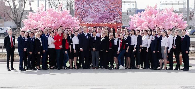 Президент Toyota Motor Russia посетил компанию VERRA