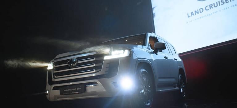 VERRA презентовала вПерми новый Land Cruiser 300