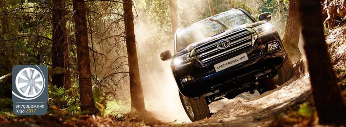 Хет-трик Toyota впремии «Внедорожник года— 2017»