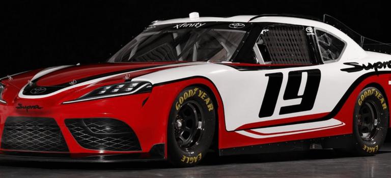 Toyota Supra примет участие вгоночном чемпионате NASCAR 2019 года