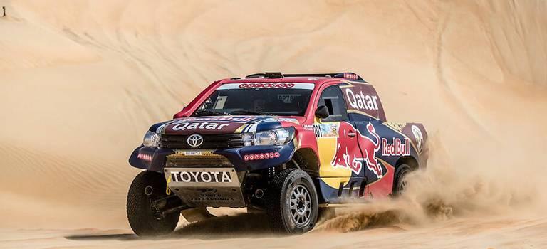 Нассер Аль-Аттия остановился вшаге отпобеды наралли-рейде Desert Challenge вАбу-Даби