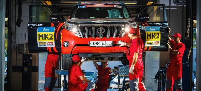 Арифметика надежности на«Шелковом пути»: 23 внедорожника Toyota, 250000 кми0 поломок