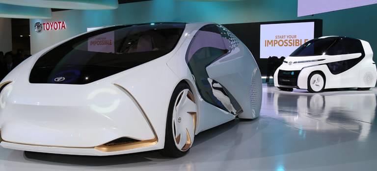 Toyota представила 10 тематических новинок наТокийском международном автосалоне