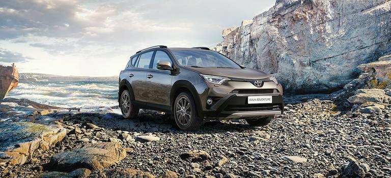 Стартовали продажи Toyota RAV4 вспециальной серии Adventure