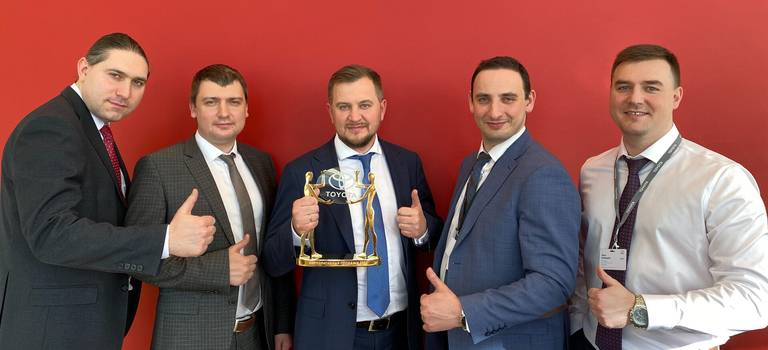 Тойота Центр Пискаревский победитель номинации премии «Награда Президента»