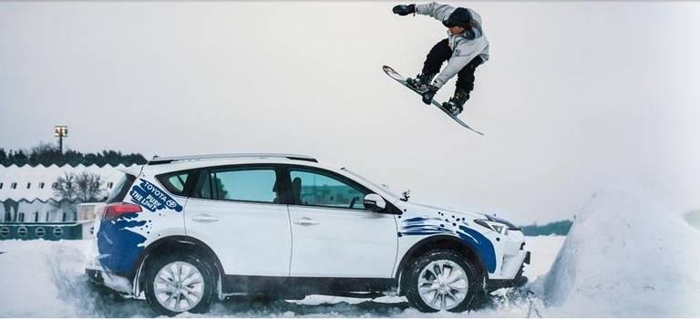 Toyota создаст «снежную бурю» насамом масштабном спортивно-музыкальном фестивале России