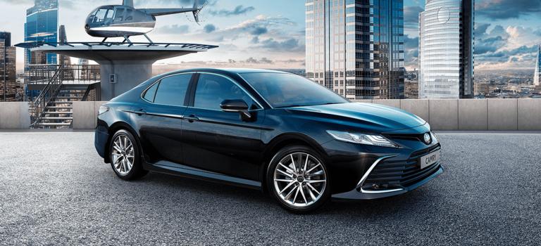 Старт приема заказов наобновленный бестселлер Toyota Camry