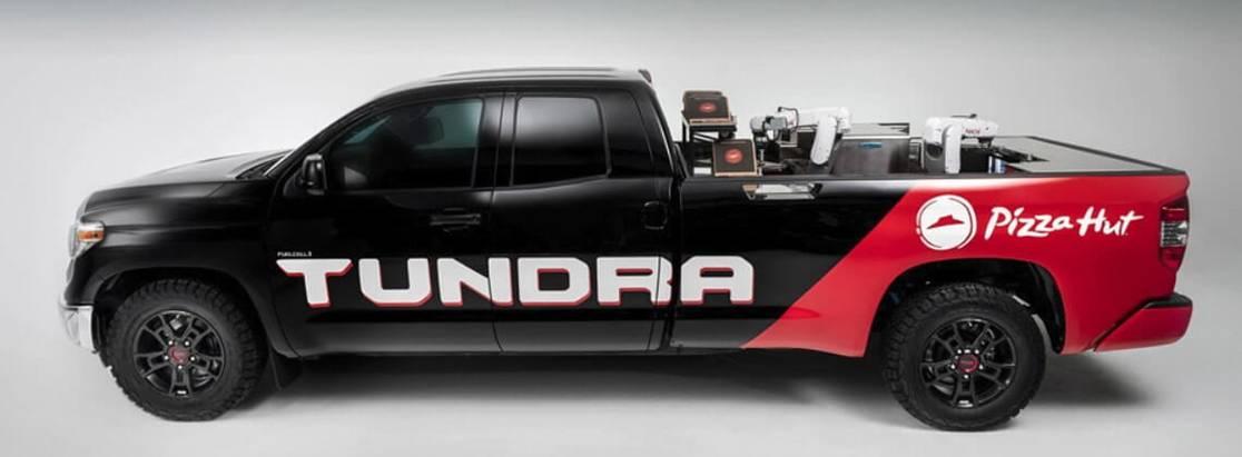 Водородный пикап Toyota Tundra Pie Pro приготовил пиццу