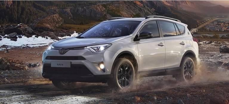 Toyota отметила годовщину первого вмире кроссовера юбилейной серией