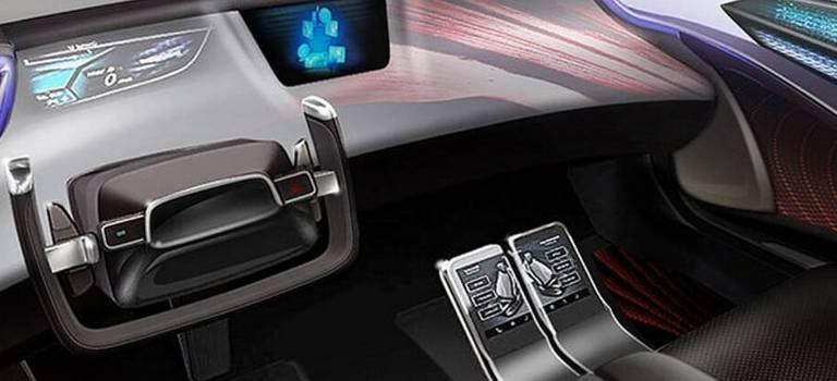 Toyota показала салон своих будущих беспилотных автомобилей