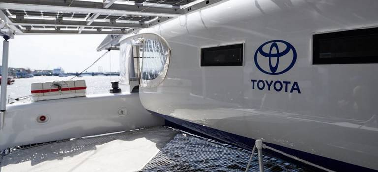 Toyota привезла вРоссию корабль будущего
