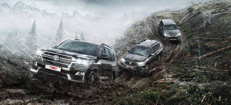 Toyota расширяет линейку внедорожников вспециальной версии TRD