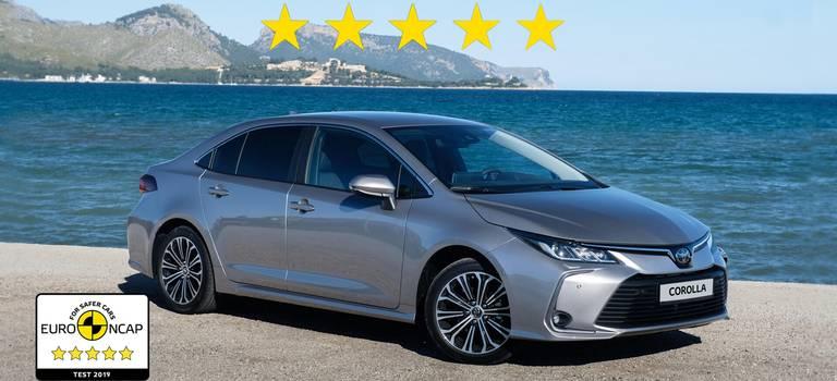 Технологии безопасности новых Toyota Corolla иRAV4 получили максимальную оценку— 5 звезд— врейтинге Euro NCAP 2019