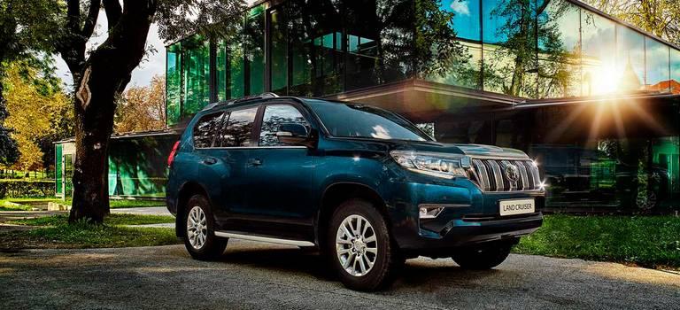 Toyota Land Cruiser Prado считают внедорожник автомобилем мечты