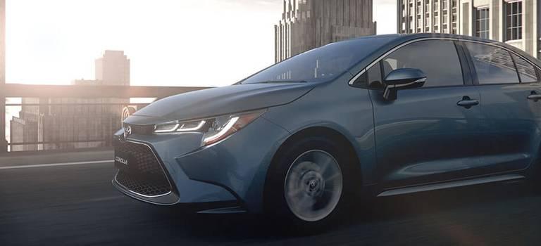 Toyota показала новую Corolla