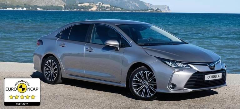 Технологии Toyota Corolla иRAV4 получили высший балл Euro NCAP