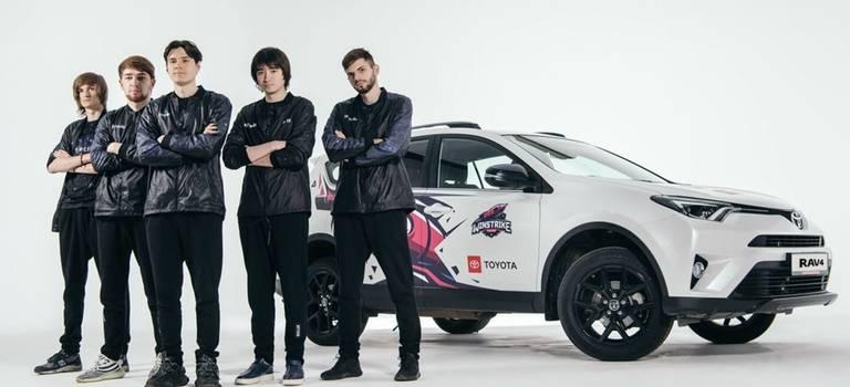 Toyota стала официальным партнером российской киберспортивной команды Winstrike Team