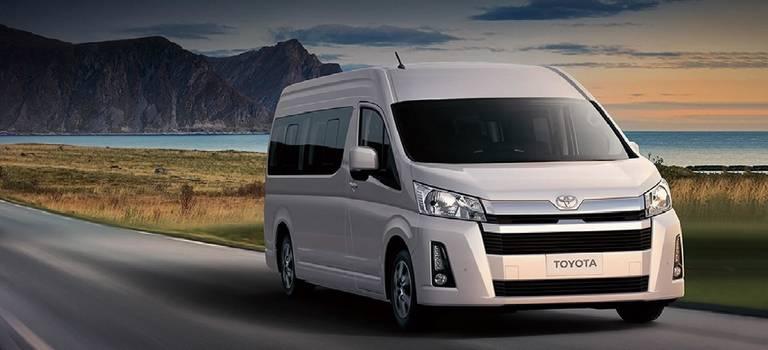 Toyota представляет вРоссии новое поколение Hiace