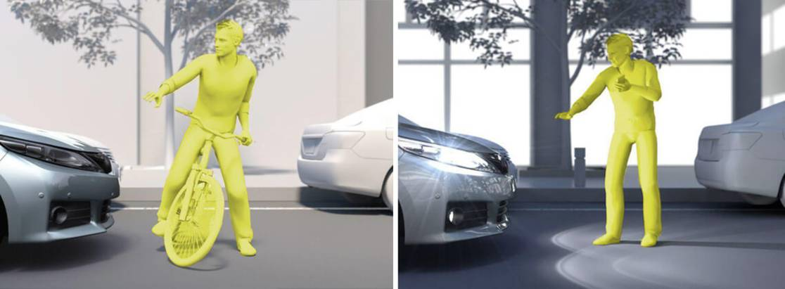 Toyota Safety Sense второго поколения увидит пешеходов даже ночью