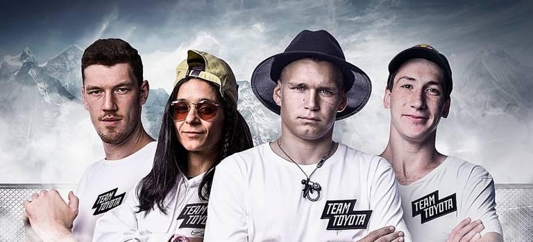 Четыре атлета #ToyotaTeamRussia стали частью глобальной олимпийской команды Toyota