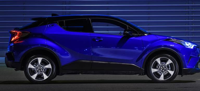 Toyota C-HR стартует вРоссии 1июня 2018 года