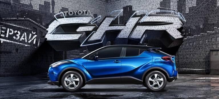 Новый Toyota C-HR